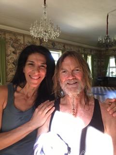 Ramona Rouhdoust with John Scott