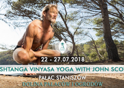 John in Staniszow Palace, 22-27 July, 2018