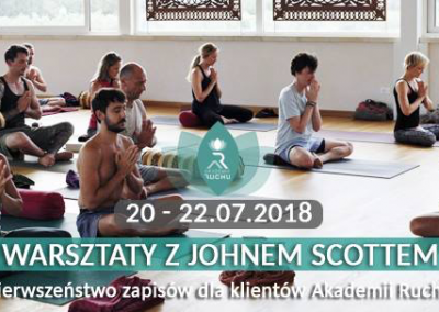 John in Wroclaw 20 – 22 July, 2018