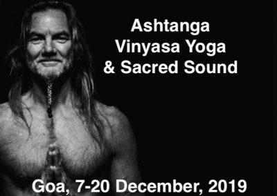 John Scott in Goa, India, 7th – 20th December, 2019