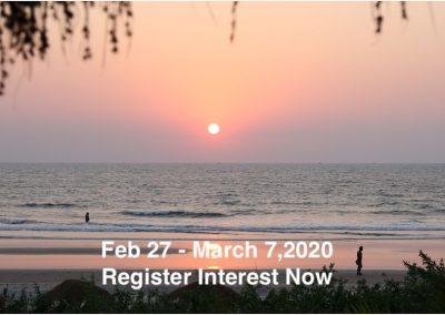 John Scott in Palmgrove, Goa, February 27 – March 7, 2020