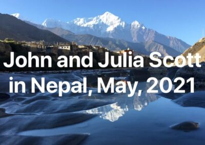 John Scott in Himalayas, Nepal, 22-29 May, 2021
