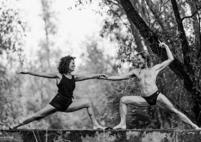 John and Julia at YogApulia 14th – 20th August, 2021