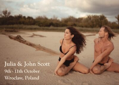 Julia and John Scott,  9-11 October, Wroclaw, Poland